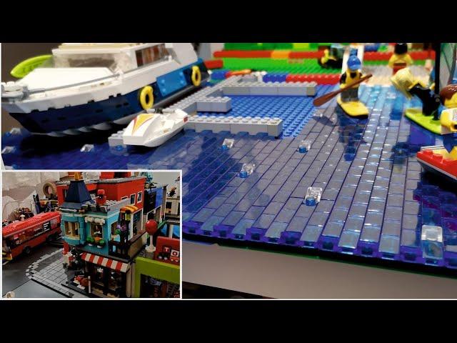 Bau einer Legostadt (Teil 22) Der Spielzeugladen wird integriert