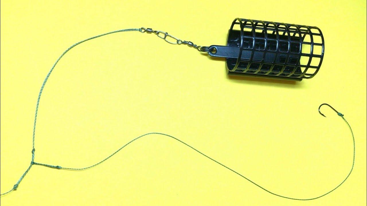 Фидерная оснастка вертолет и два узла | монтаж фидерной оснастки | фидер для начинающих рыбалка 2020
