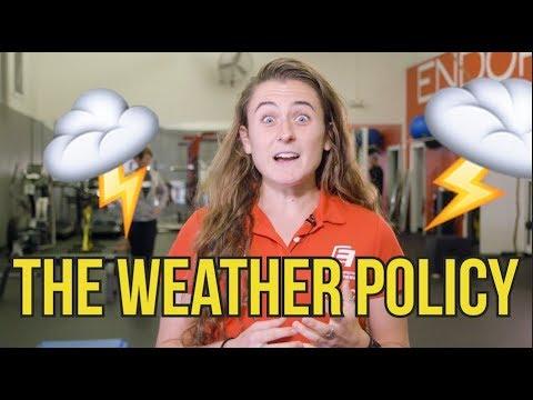 Triathlon Weather Policy