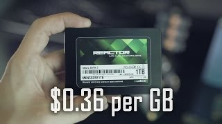 Mushkin 1TB SSD for $360 + New Budget M.2 and stacked SSD drives Thumbnail