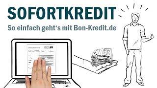 Kredite – so einfach geht's mit Bon-Kredit