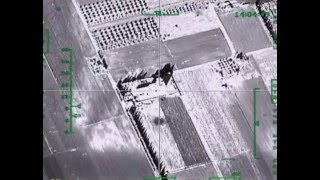Удар авиации РФ по крупному складу боевиков ИГИЛ в провинции ИДЛИБ