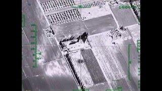 Удар авиации РФ по крупному складу боевиков ИГИЛ в провинции ИДЛИБ(Strike of the Russian aviation against a large ISIS depot (Idlib province), 2015-12-04T16:22:49.000Z)