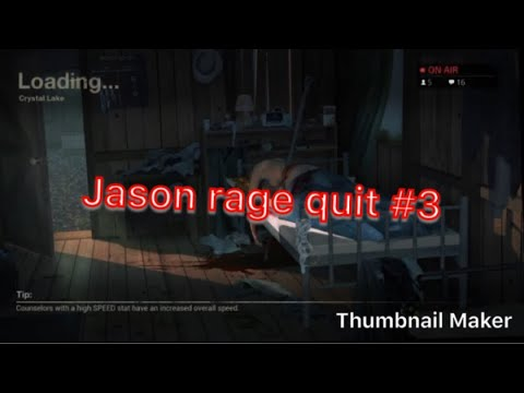 Friday The 13th The Game Making Jason Rage Quit Part 3