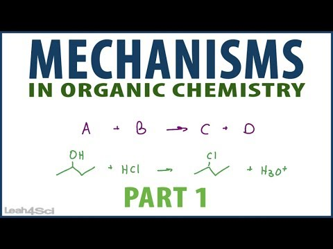 Intro to Orgo Mechanisms Nucleophilic Attack and Loss of Leaving Group