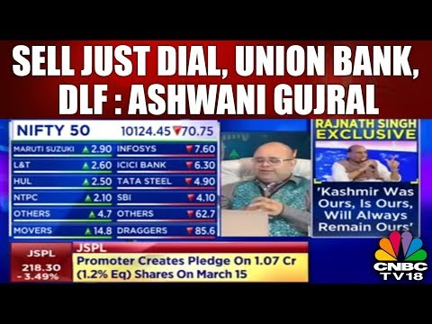 Midcap Radar | Pressure on the Downside; Sell Just Dial, Union Bank, DLF: Ashwani Gujral | CNBC Tv18