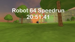 Robot 64 any% speedrun in 20:51.41