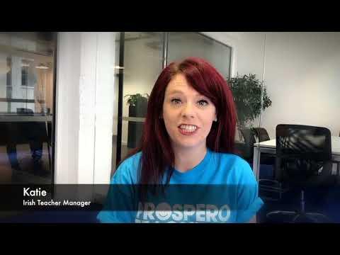 Irish Teacher Manager - Katie