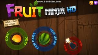 Le Morcov Show: Fruit Ninja HD (PC) +Download Link [Gameplay / Commentary]