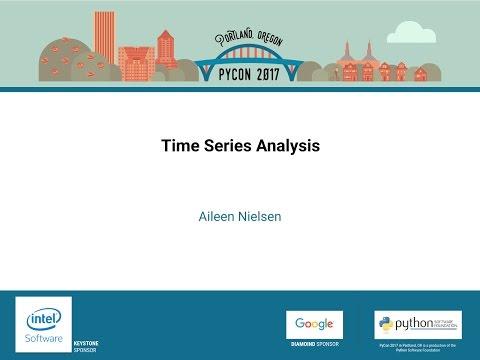 Aileen Nielsen - Time Series Analysis - PyCon 2017
