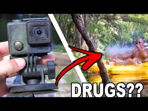 WATCHING FOOTAGE FROM 4 YEAR OLD LOST GOPRO!!! (They Were Doing DRUGS?!) | JOOGSQUAD PPJT