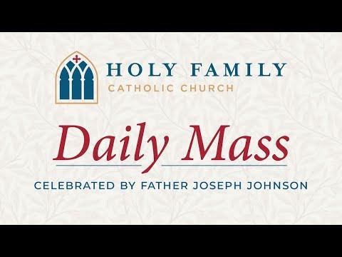 Daily Mass, November 25, 2020