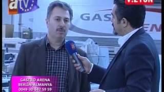 Gastro Arena beim türkischen Sender ATV Avrupa