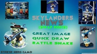 Skylanders News (SWAP FORCE) Great Image Quick Draw Rattle Shake
