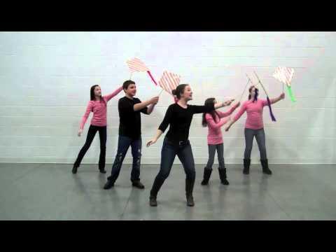 Fly A Kite - MusicK8.com Kids' Choreography Video