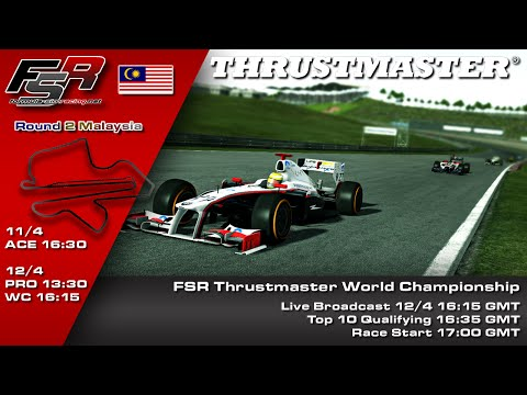 FSR 2015 Broadcasts - Thrustmaster WC Round 2, Malaysia