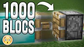 ET SI.... LES PISTONS POUSSAIENT 1000 BLOCS ?!