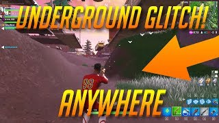 *NEW* EASY UNDERGROUND GLITCH YOU CAN DO ANYWHERE! 16 JUNE 2018! - Fortnite Battle Royale