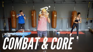 45 minute Combat & Core HIIT Workout