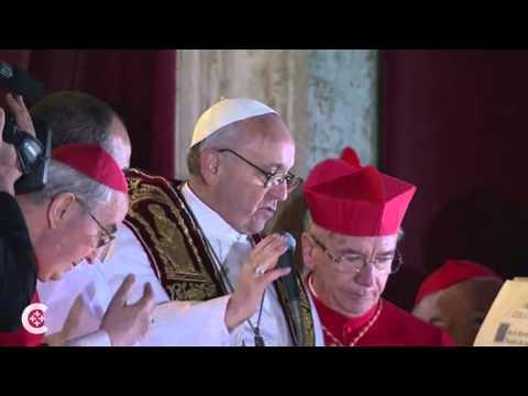 Pope Francis speaks