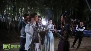 [BTS] Zhao Li Ying & William Chan - The Interrupting Poet