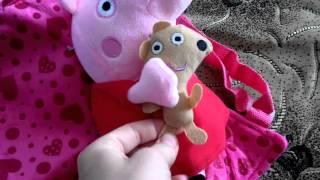 Peppa Pig. Обзор рюкзака детского Свинка Пеппа.
