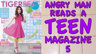 Angry Man Reads a Teen Magazine 5
