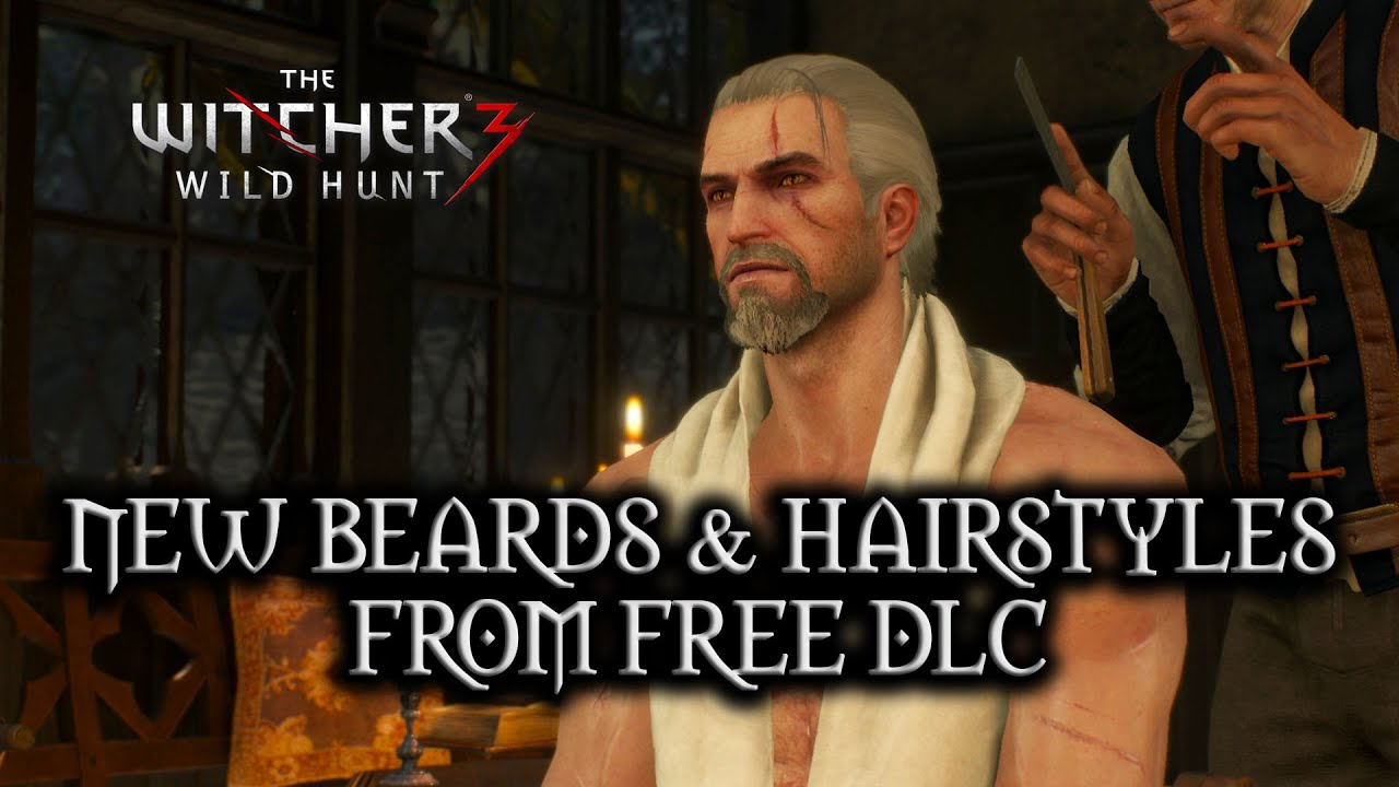 Witcher 3 Hair Styles: New Beards And Hairstyles From