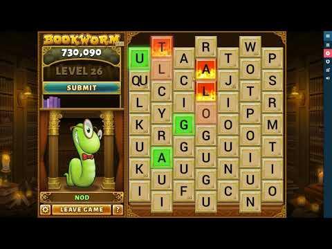 Playing Pogo Bookworm Game Part One Pwalpar VLOG