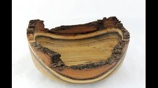 Woodturning A Natural Edge Bowl