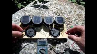 DIY Solar Tuin verlichting Hack - Solar Batterij Oplader