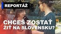 Mať ďaleko viac peňazí v zahraničí alebo žiť doma na Slovensku. Čo by si študenti vybrali?