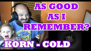 Korn - Cold (Official Visualizer) reaction