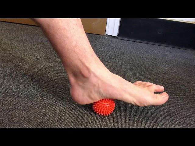 Plantar Fascia Massage Technique