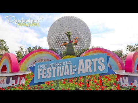 EPCOT International FESTIVAL of the ARTS at Disney World!