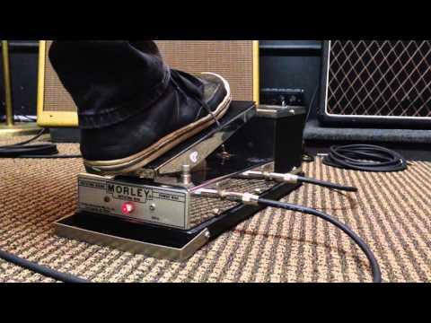 Morley Rotating Wah RWV Vintage Tel-Ray Oil Can Leslie Guitar Effect Pedal