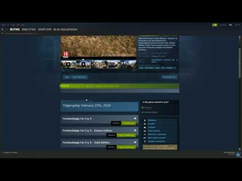 Problem downloading Far Cry 5 with steam