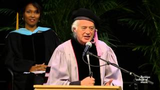 Jimmy Page Delivers Berklee Commencement Address 2014