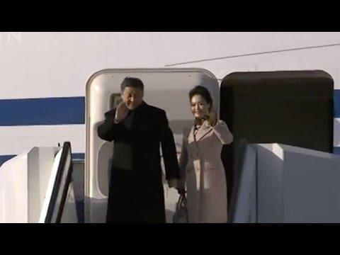 President Xi Jinping arrives in Helsinki for Finland visit