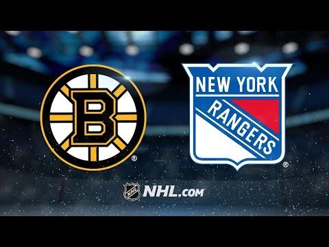 Vesey, Lundqvist lead Rangers past Bruins, 4-2