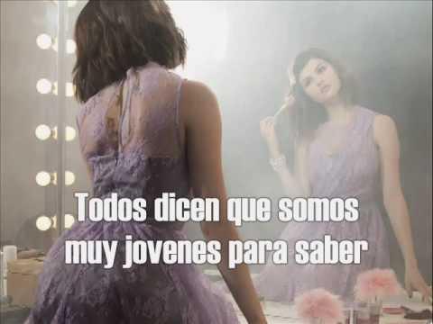 Selena Gomez & The Scene - I Promise You (español) HQ