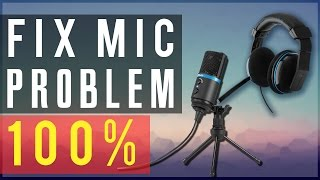 how to fix microphone audio problem microphone not working in windows 7 8 10