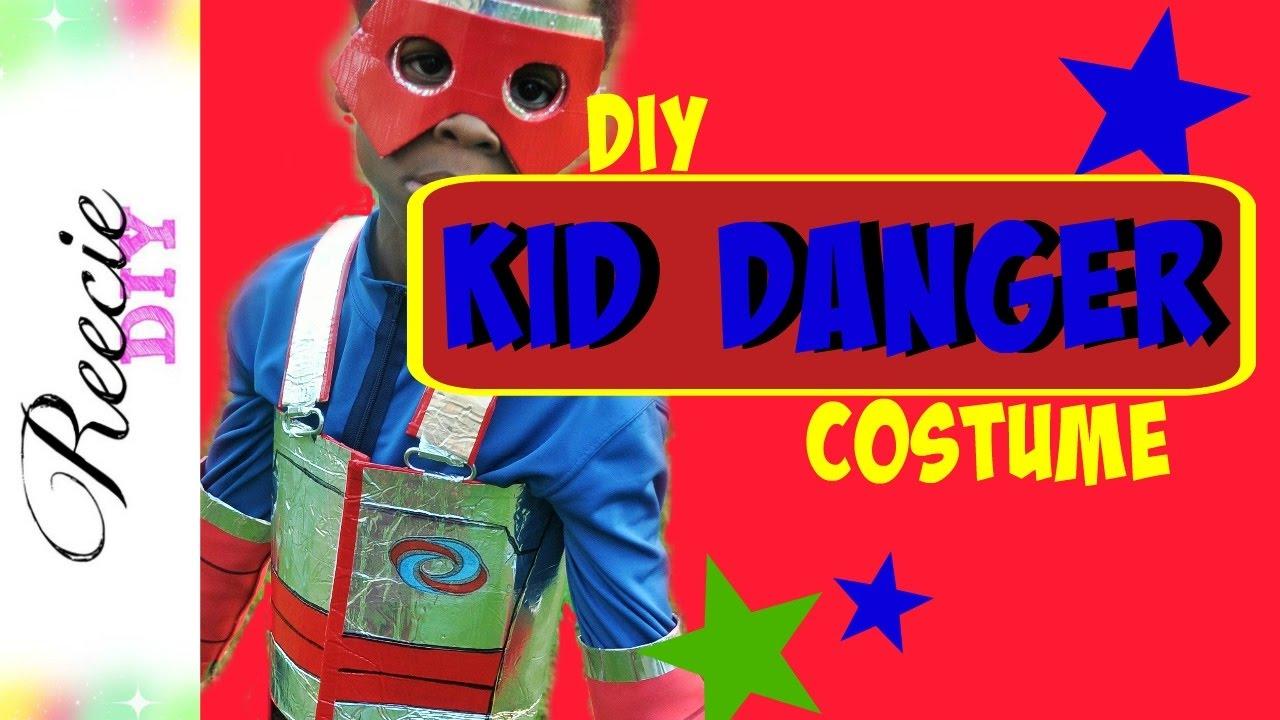 abbastanza How to make a Kid Danger Costume - YouTube TP56