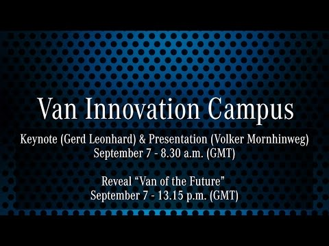 Van Innovation Campus: Key Note Speech of Gerd Leonhard and Presentation of Volker Mornhinweg