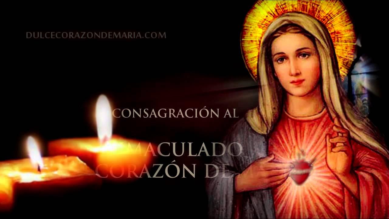 Resultado de imagen para consagración al Inmaculado Corazón de María