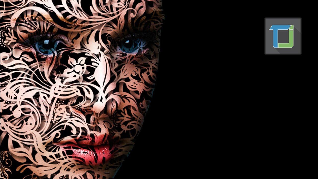 Vector portrait in photoshop cs6 photo effects tutorial youtube baditri Gallery
