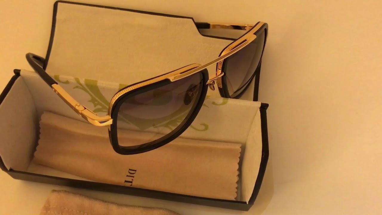 28c46590e31 Dita Eyewear Mach One sunglasses - YouTube