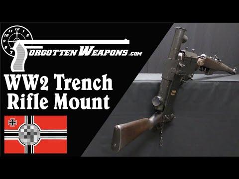 Deckungszielgerät - Germany's WW2 Trench Rifle System