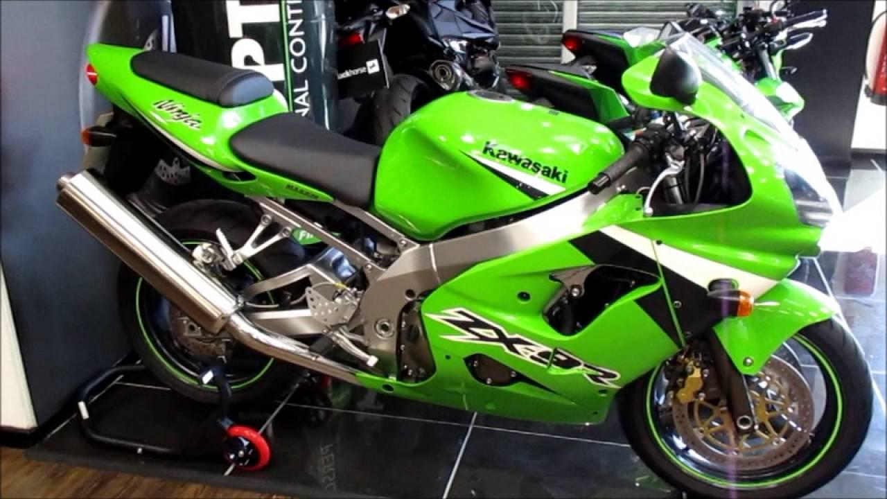 Via-Moto Kawasaki - 2004 Kawasaki ZX9R - NOW SOLD - YouTube