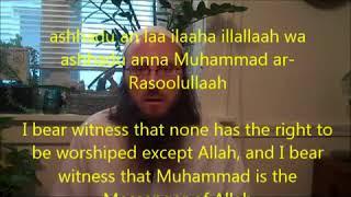 Russe konvertiert zum Islam Neuer Moslem Video